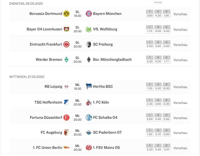 28 тур Бундеслиги