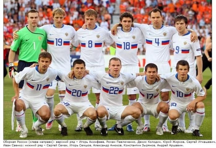 Сборная России на Евро-2008