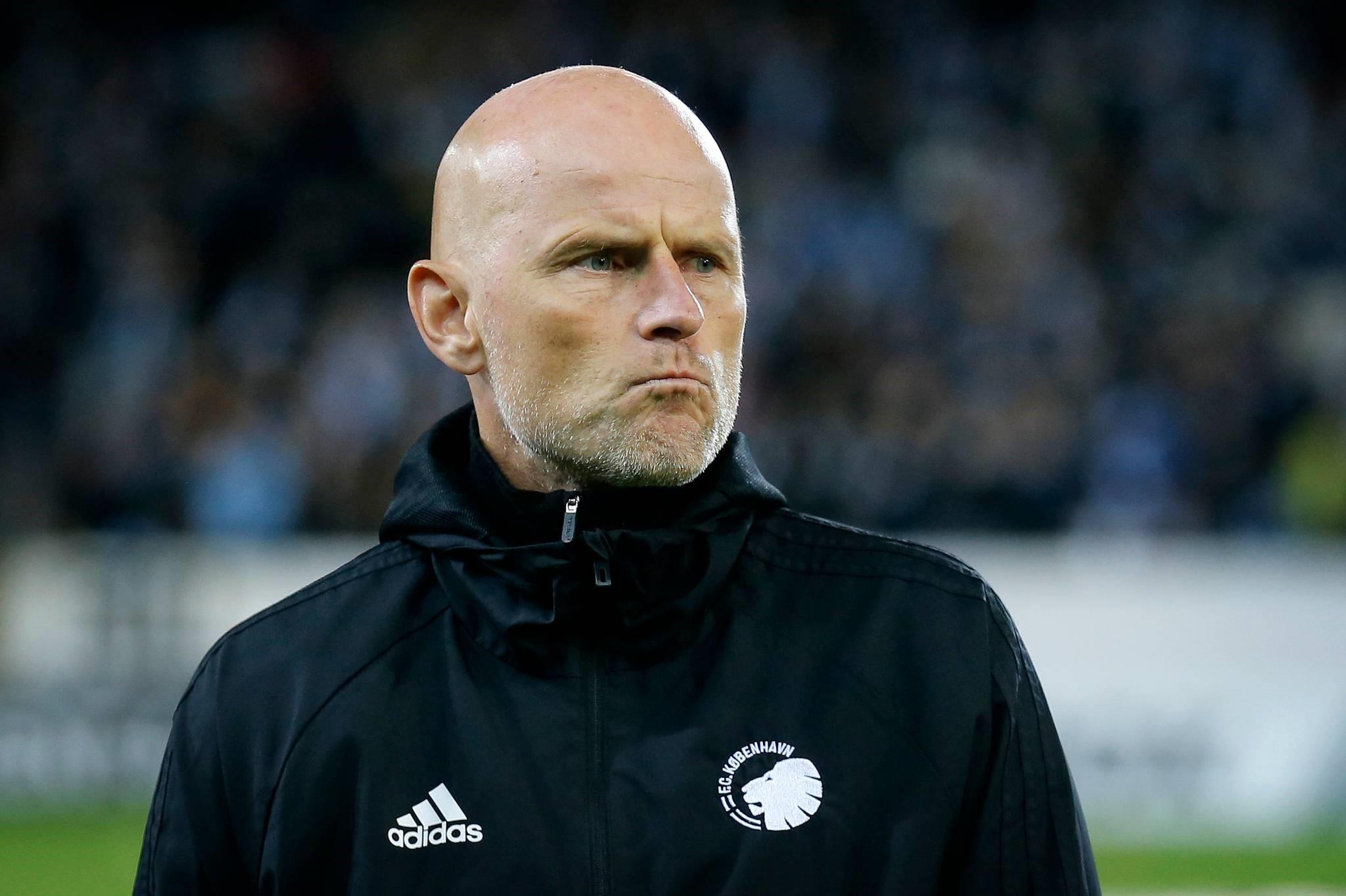 Главный тренер «Копенгагена» Столе Сольбаккен