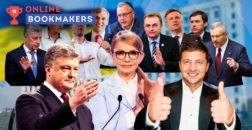 Итоговые коэффициенты на выборы Президента Украины