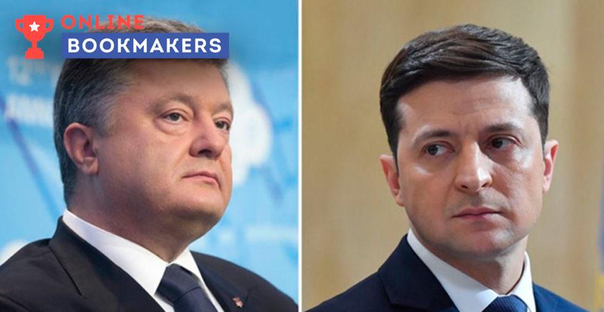 Букмекер 888.ru первым разместил на своем сайте ставки на второй тур выборов в Украине