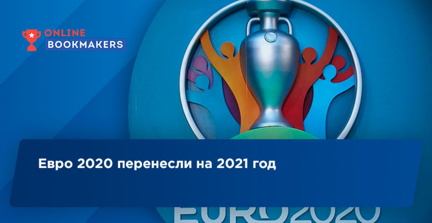Евро 2020 перенесли на 2021 год