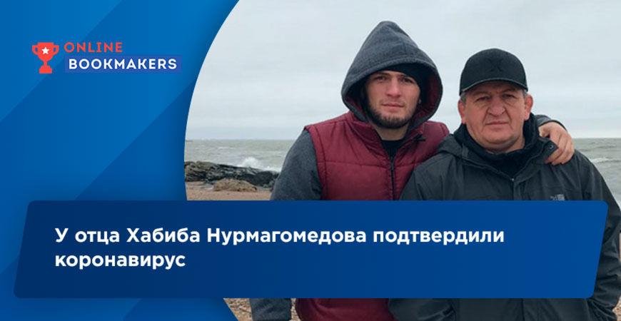 У отца Хабиба Нурмагомедова подтвердили коронавирус