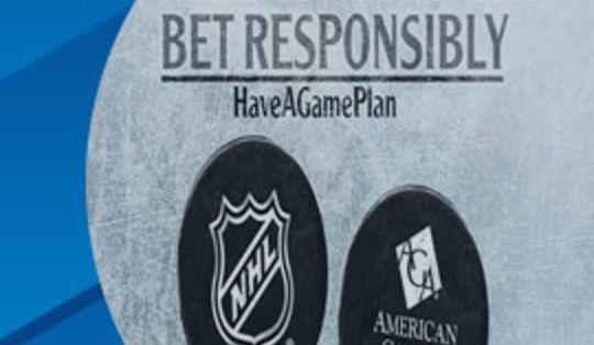 НХЛ будет сотрудничать с Американской игровой ассоциацией в сфере ответственных ставок