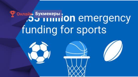 Спортивные организации Шотландии получили помощь в размере 55 млн. фунтов